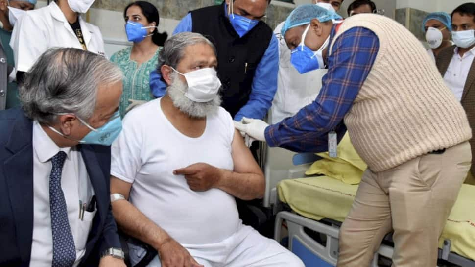 Haryana minister Anil Vij, who was given trial dose of COVID-19 vaccine, tests positive