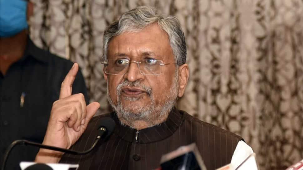 Sushil Kumar Modi elected unopposed to Rajya Sabha from Bihar | India News | Zee News