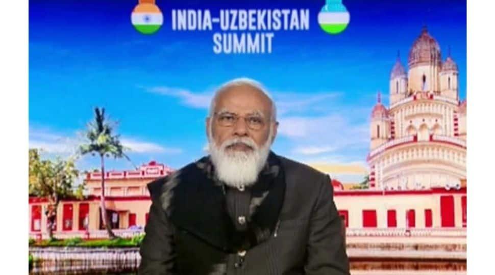Afghanistan, counter-terror top focus by PM Narendra Modi at India-Uzbekistan virtual summit