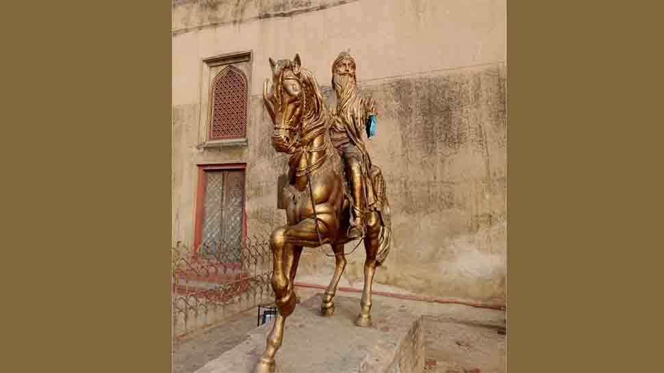 Maharaja Ranjit Singh's statue vandalised in Pakistan; second incident in a year