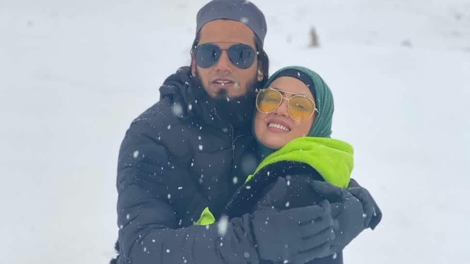 Sana Khan's fresh honeymoon pics with husband Anas Saiyad go viral! Check