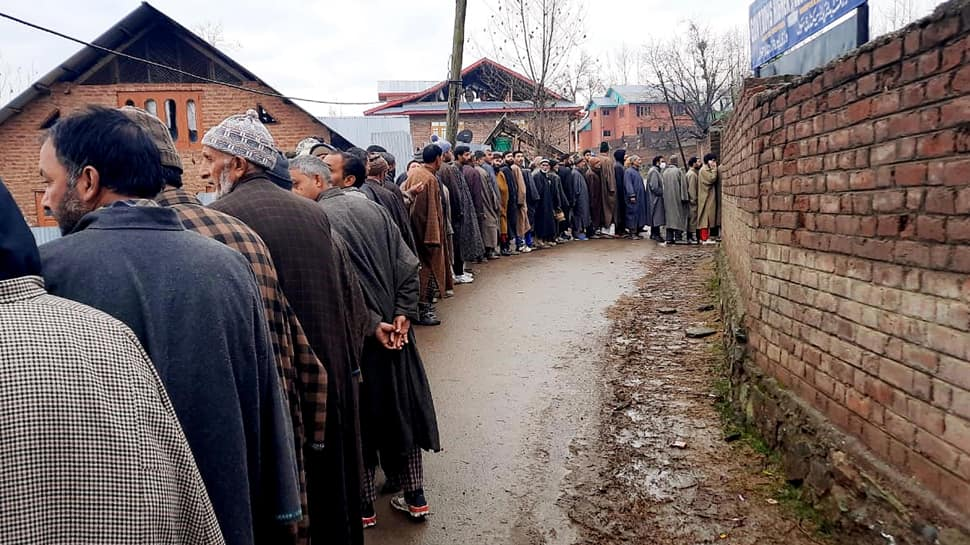 DDC election phase 7: Over 6 lakh voters to decide fate of 298 candidates in Jammu and Kashmir on Wednesday