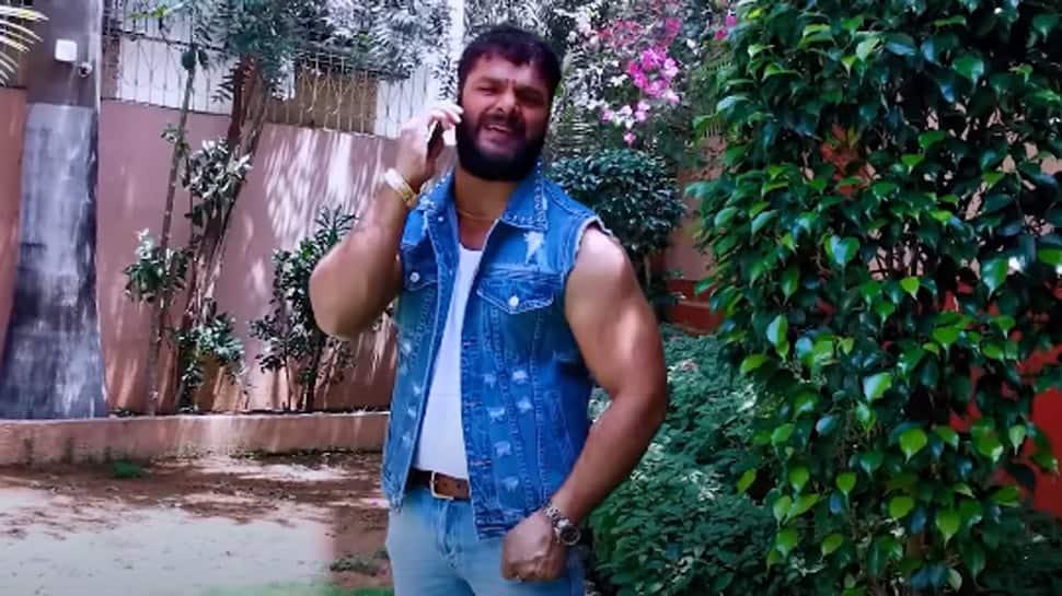 Khesari Lal Yadav's viral Bhojpuri song 'Maugi Khele PUBG' crosses 100 mn views on YouTube - Watch