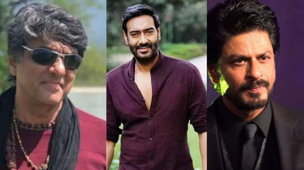 Mukesh Khanna attacks Ajay Devgn, Shah Rukh Khan for promoting tobacco, smoking