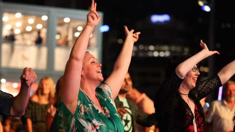 New Year's Eve celebrations in Auckland, New Zealand