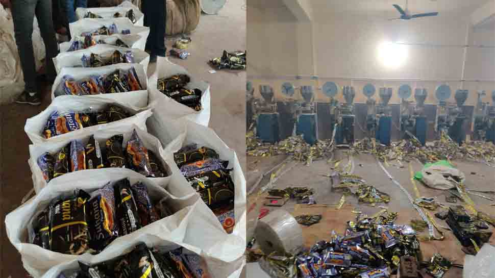 Illegal gutka factory busted in Delhi, goods worth Rs 4.14 crore recovered