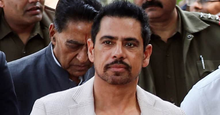 Robert Vadra's statement being recorded by I-T Department officials in Benami property case