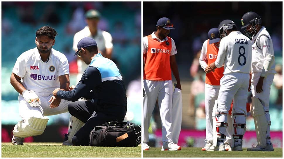Team India's injury woes deepen, Rishabh Pant, Ravindra Jadeja taken for  scans   Cricket News   Zee News