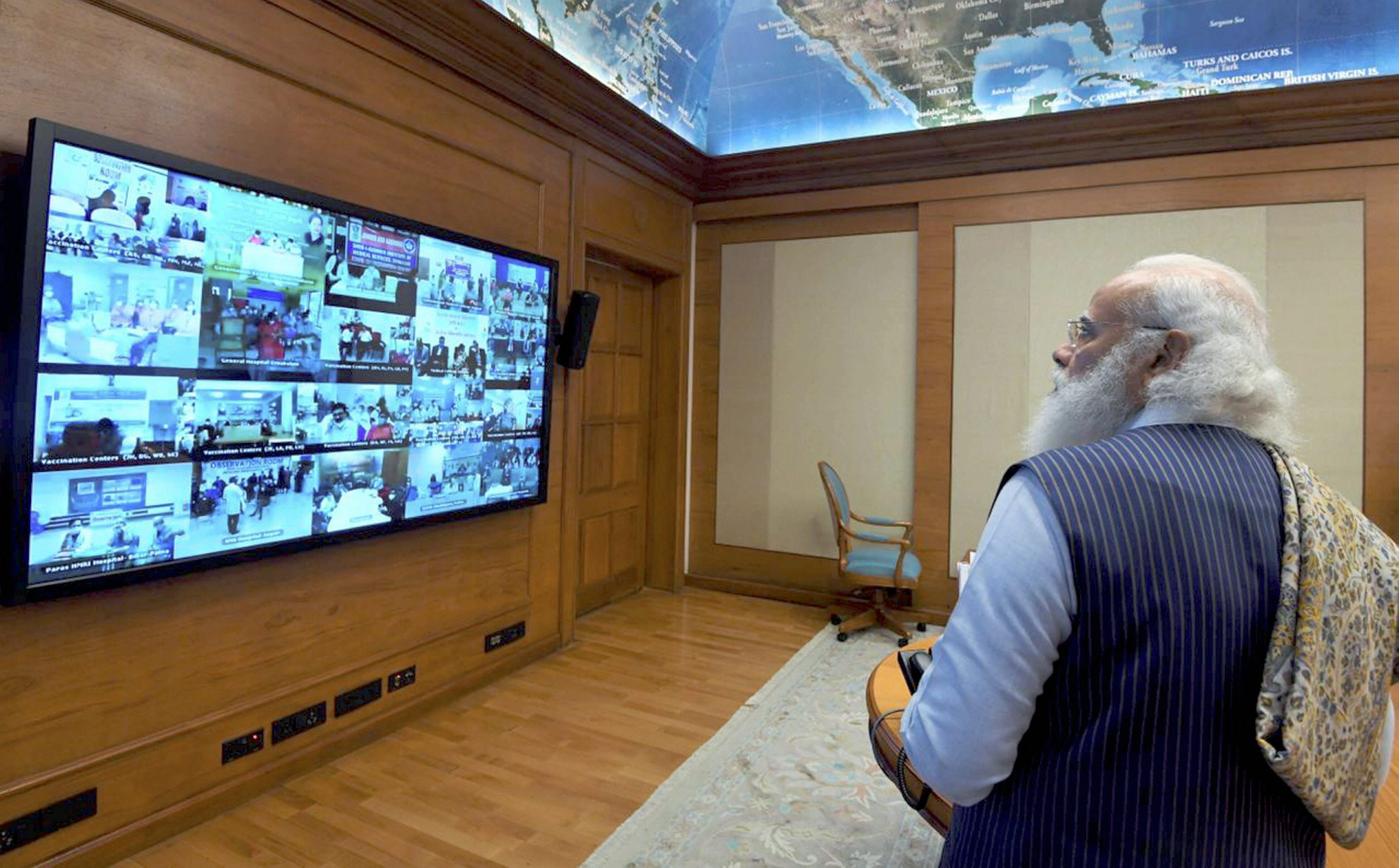 PM Modi launched pan India rollout of COVID-19 vaccination drive via video conferencing