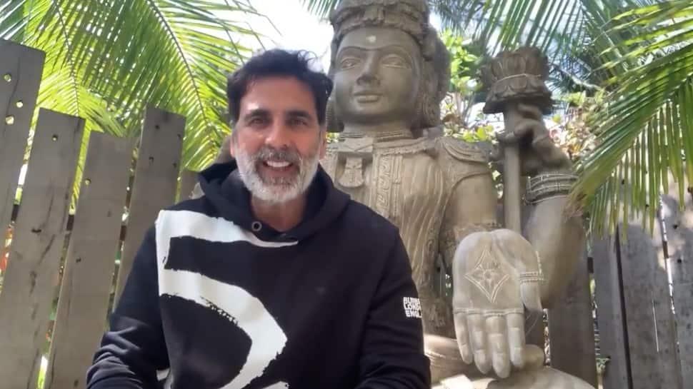 Akshay Kumar donates for construction of Ayodhya's Ram Mandir, urges everyone to contribute; watch