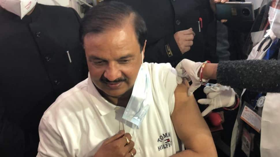 Mahesh Sharma, first MP to take COVID-19 vaccine jab, feeling fine after 24 hours thumbnail