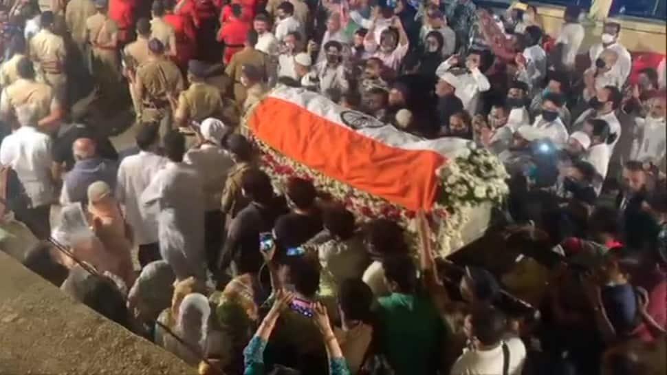 Ustad Ghulam Mustafa Khan laid to rest with full state honours, PM Narendra Modi sends condolences