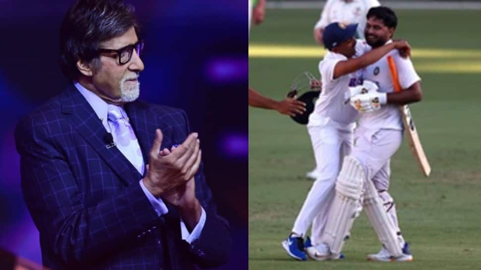 Team India's record-breaking win at Gabba gets a huge shout out from Bollywood: Amitabh Bachchan, Shah Rukh Khan, Akshay Kumar and others laud 'historic win' | People News | Zee News