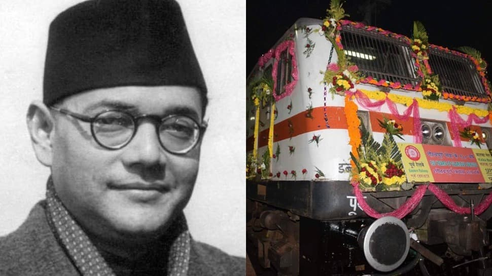 Ahead of Subhas Chandra Bose's birth anniversary, Indian Railways renames Howrah-Kalka Mail as 'Netaji Express'