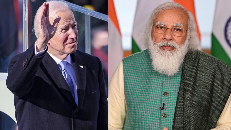 PM Narendra Modi congratulates US President Joe Biden and Vice-President Kamala Harris, says 'look forward to strengthening India-US ties'