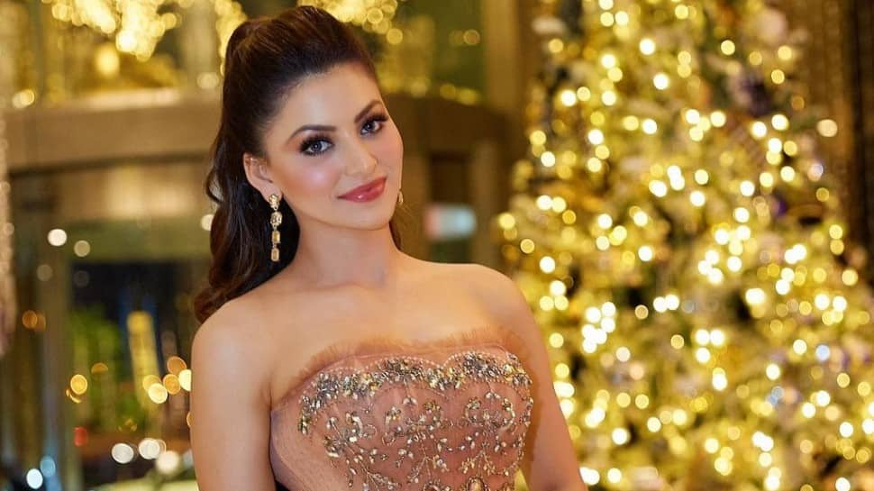 Urvashi Rautela steals spotlight with her gorgeous new gown and jewellery, check video