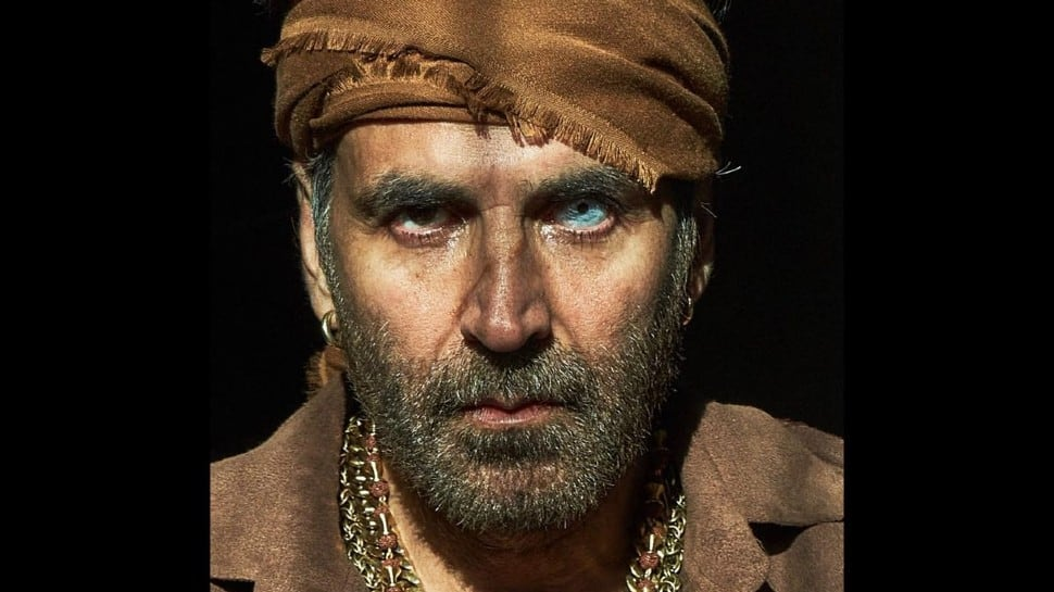 Akshay Kumar reveals 'Bachchan Pandey' release date with intense first look poster