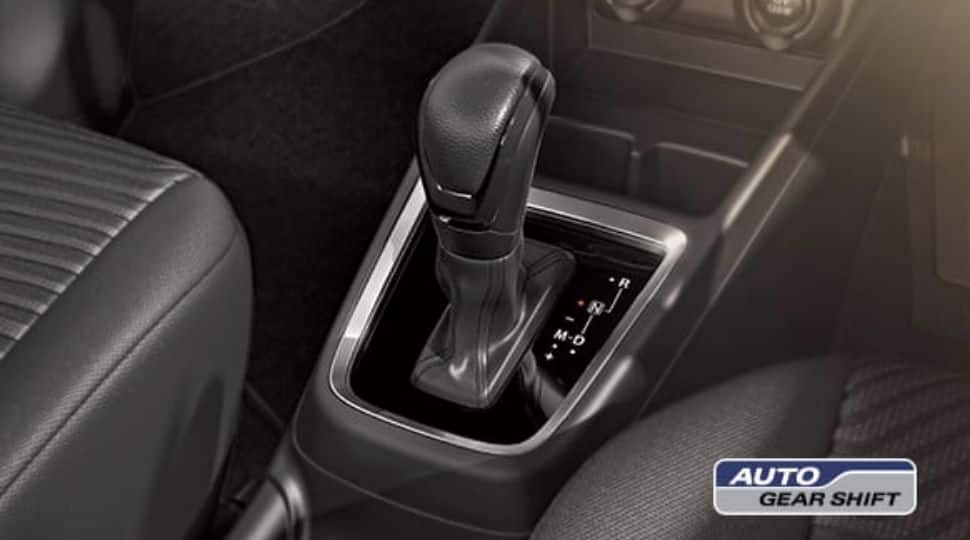 The AMT gearbox comes as a great relief for the jam-packed city drives.