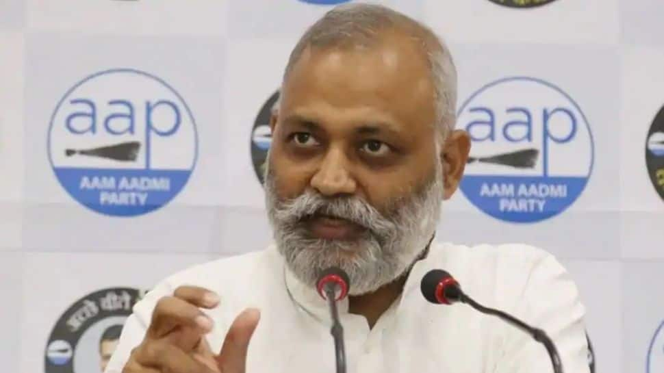 Delhi court sentences AAP MLA Somnath Bharti to 2 years in prison for assaulting AIIMS staff