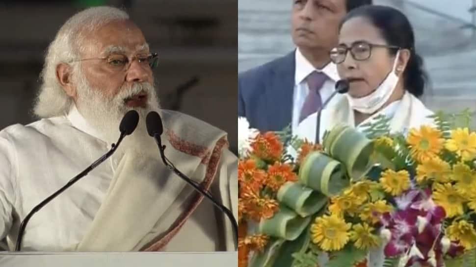Mamata Banerjee refuses to address Netaji event in Kolkata after crowd shouts 'Jai Sri Ram' slogans in presence of PM Narendra Modi — Watch