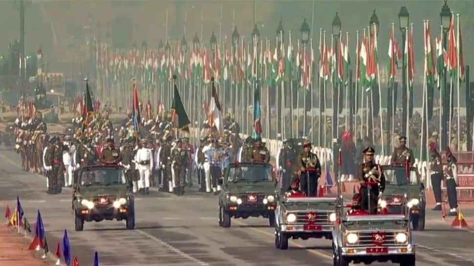 India show their military might in the 72nd Republic Day parade. (Photo: ANI)