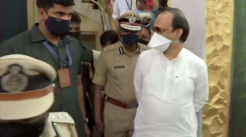 Maharashtra's Deputy Chief Minister Ajit Pawar along with many other officials was physically present at the Central Jail in Yerwada.