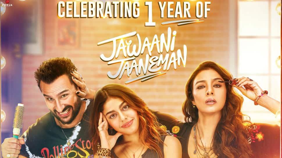 Deepshikha Deshmukh celebrates one year of Pooja Entertainment's 'Jawaani Jaaneman'