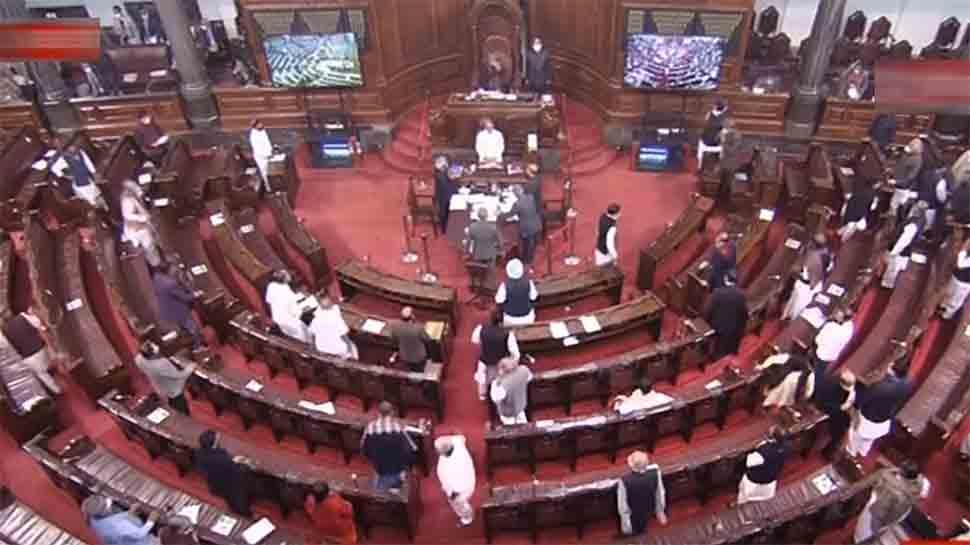 Farmer issue hits Rajya Sabha proceedings, House adjourned for the day    India News   Zee News