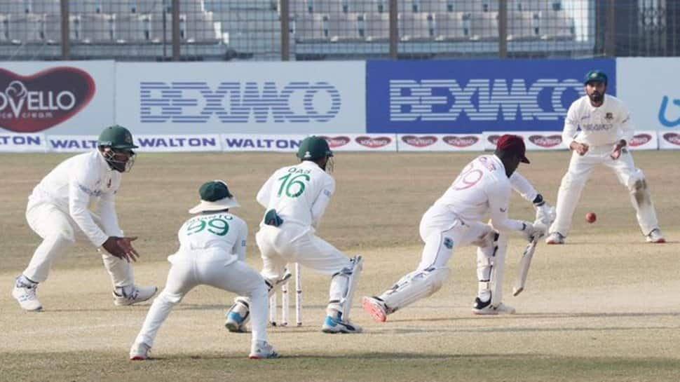 BAN vs WI, 1st Test: Hosts need seven wickets to win on final day