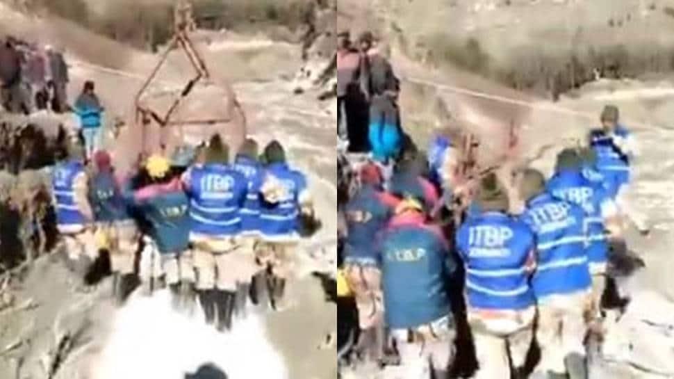 ITBP making 'Jhula Bridge' to link 13 villages cut off in Uttarakhand