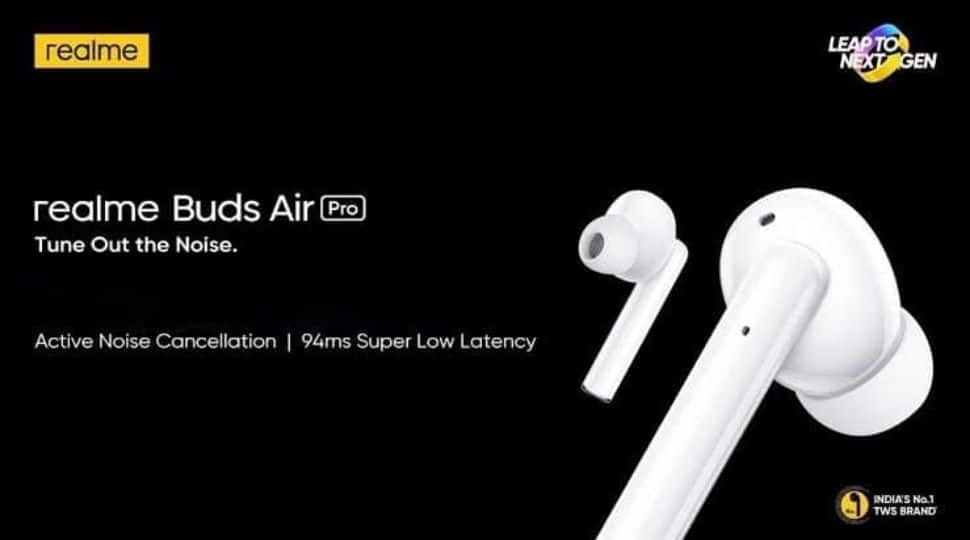 realme Buds Air Pro is available at a price of Rs 4,999.