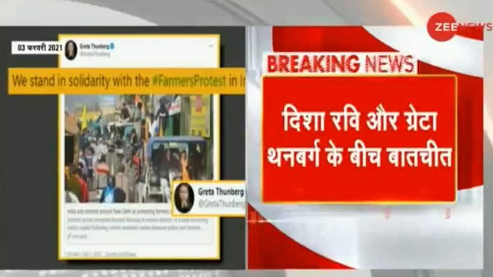 Disha Ravi panicked after Greta Thunberg shared toolkit on Twitter, claims Delhi Police