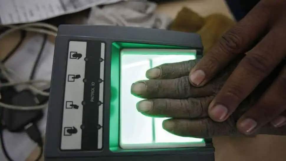 Where can an Aadhaar card holder his/her Aadhaar Authentication history?