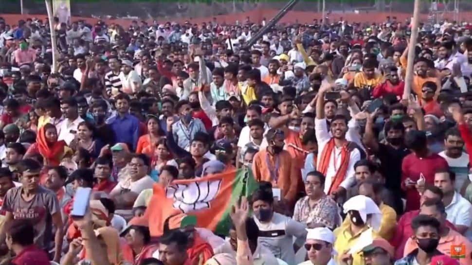 PM Modi praises the turnout in West Bengal