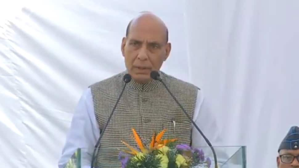 Union Defence Minister Rajnath Singh inaugurates skill development centre for fire safety training