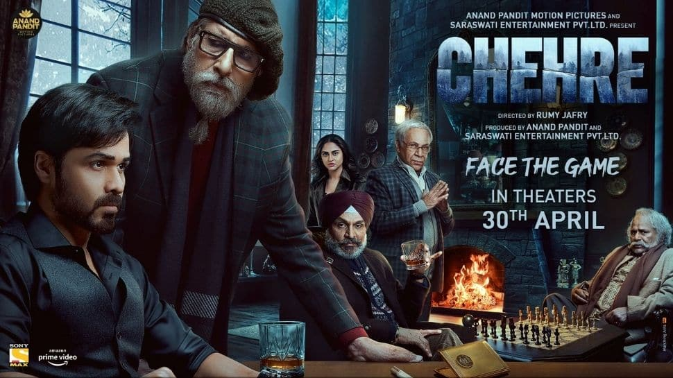 Chehre new poster: Amitabh Bachchan, Emraan Hashmi starrer to hit theatres on this date!
