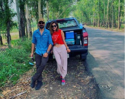 Rubina Dilaik and Abhinav Shukla give major couple goals!
