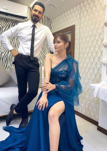 Rubina Dilaik and Abhinav Shukla know how to style!