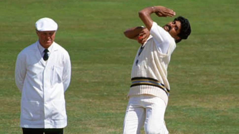 Legendary all-rounder Kapil Dev picked up 219 wickets in his illustrious career while playing Tests in India. (Source: Twitter)