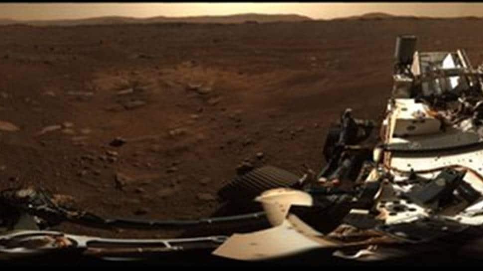 NASA`s Perseverance Rover posts stunning panoramic photo of Mars - Zee News