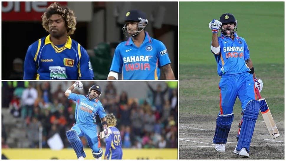 This day that year: When Virat Kohli's blade ripped apart Lasith Malinga and Sri Lanka