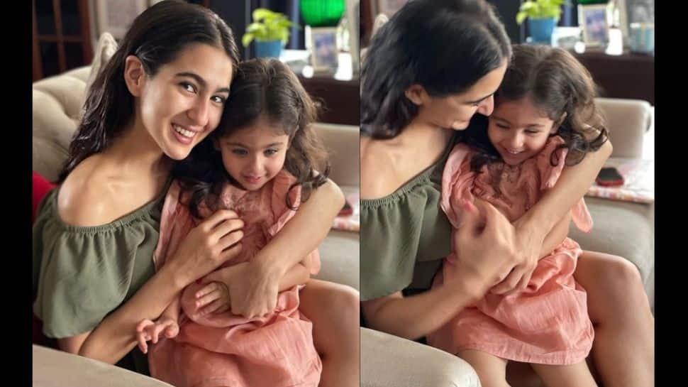 Sara Ali Khan shares an adorable pic with Soha Ali Khan's daughter Inaaya Kemmu