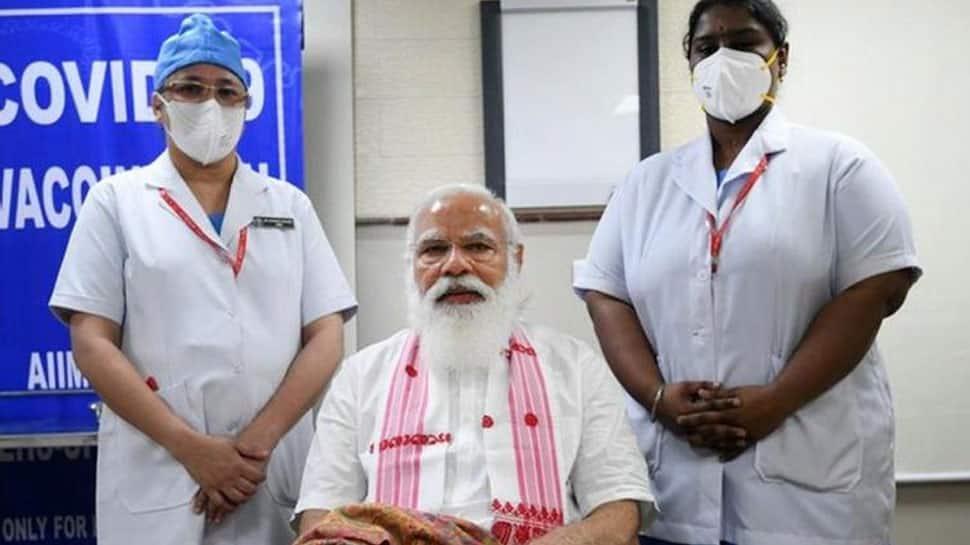 Who is Sister P Niveda who gave COVID-19 vaccine shot to PM Narendra Modi