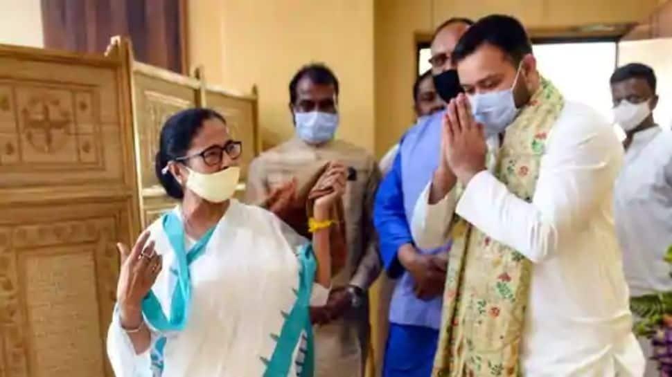 RJD leader Tejashwi Yadav meets Mamata Banerjee ahead of West Bengal assembly election