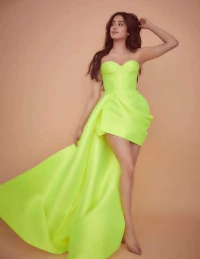 Don't shy away from colours like Janhvi