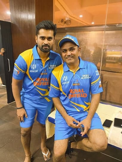 Road Safety World Series: Vinay Kumar and Virender Sehwag