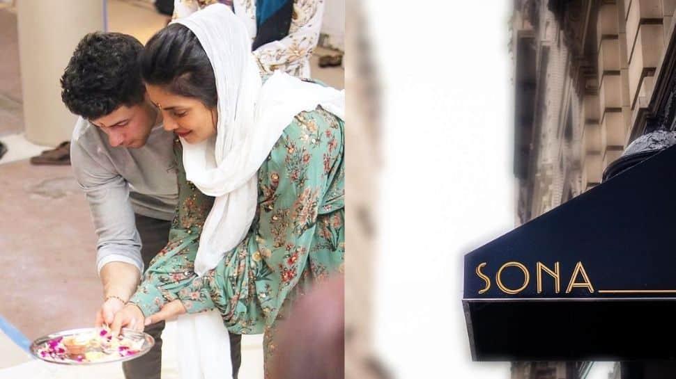 Priyanka Chopra opens Indian restaurant 'Sona' in New York, shares puja picture with husband Nick Jonas