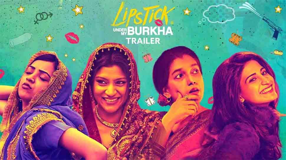 Lipstick Under My Burka (2016)