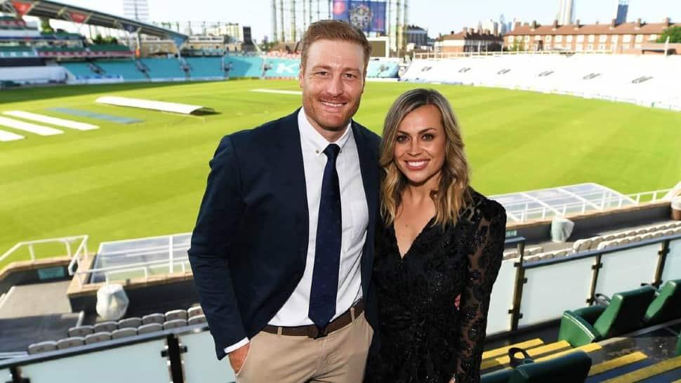 New Zealand opener Martin Guptill is married to Laura McGoldrick. (Source: Twitter)