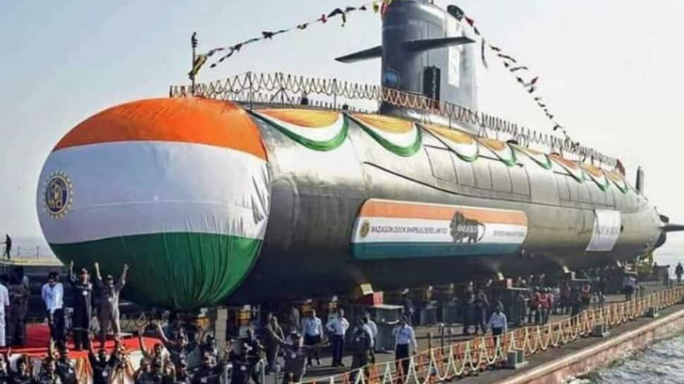 INS Karanj, third Scorpene-Class Submarine, commissioned into Indian Navy